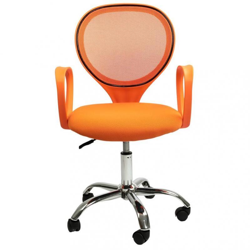 Офисное кресло Sector Helios Оранжевый (KR03) - фото 13