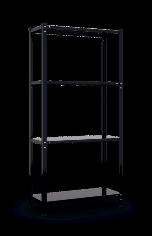 Стелаж металевий Меткас РЕК 3 1500x750x300 мм 35 кг/полку (річок 3) - фото 1