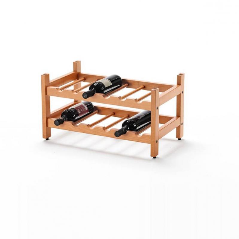 Модульна стійка для винних пляшок Birellone на 12 пляшок Вишня (547) - фото 1