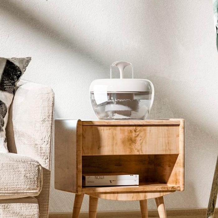 Автоматична поїлка-фонтан для кішок Pawoof X1 Білий - фото 3