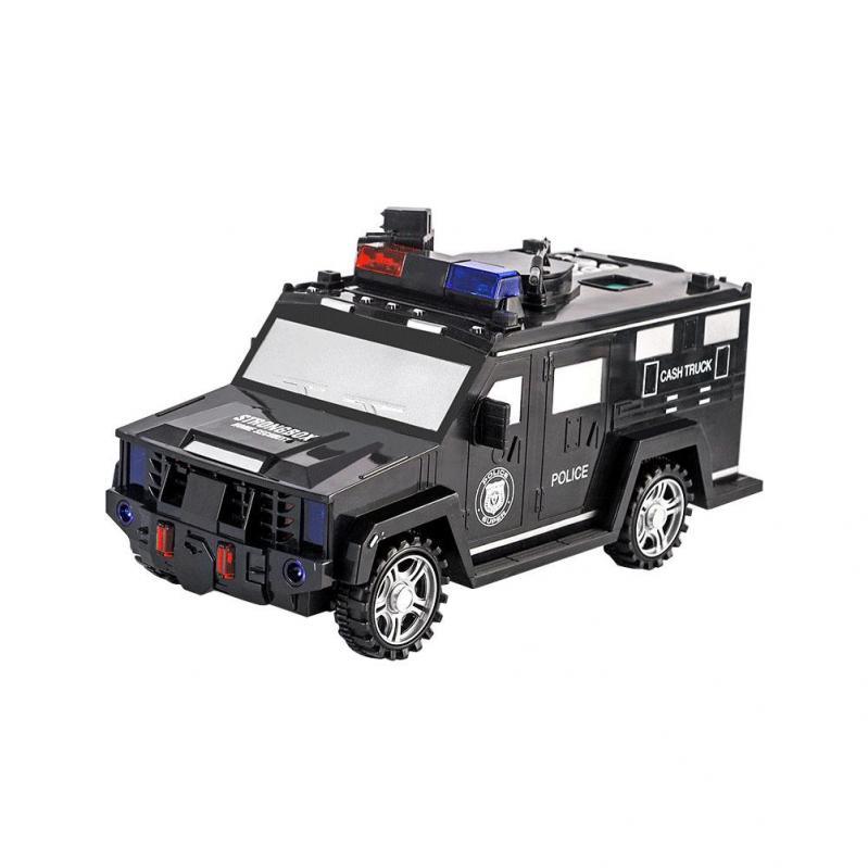 Дитяча машина Cash truck сейф-скарбничка з кодовим замком і відбитком пальця - фото 1