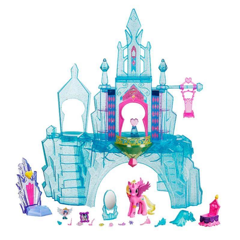 Ігровий набір фігурок Кристалічний замок My Little Pony (BR27792) - фото 3