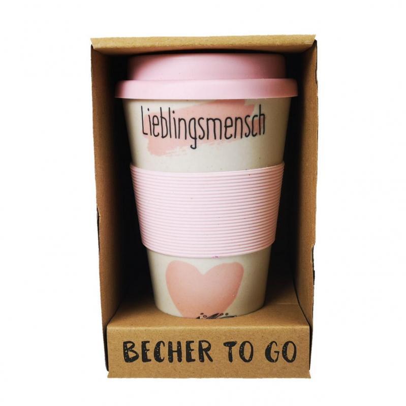 Кружка кофейная to Go Becher Bambus Liebling 350 мл - фото 2