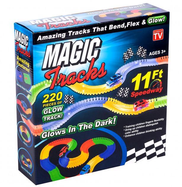 Гоночна траса Magic Tracks гнучка на 220 деталей (V437) - фото 1