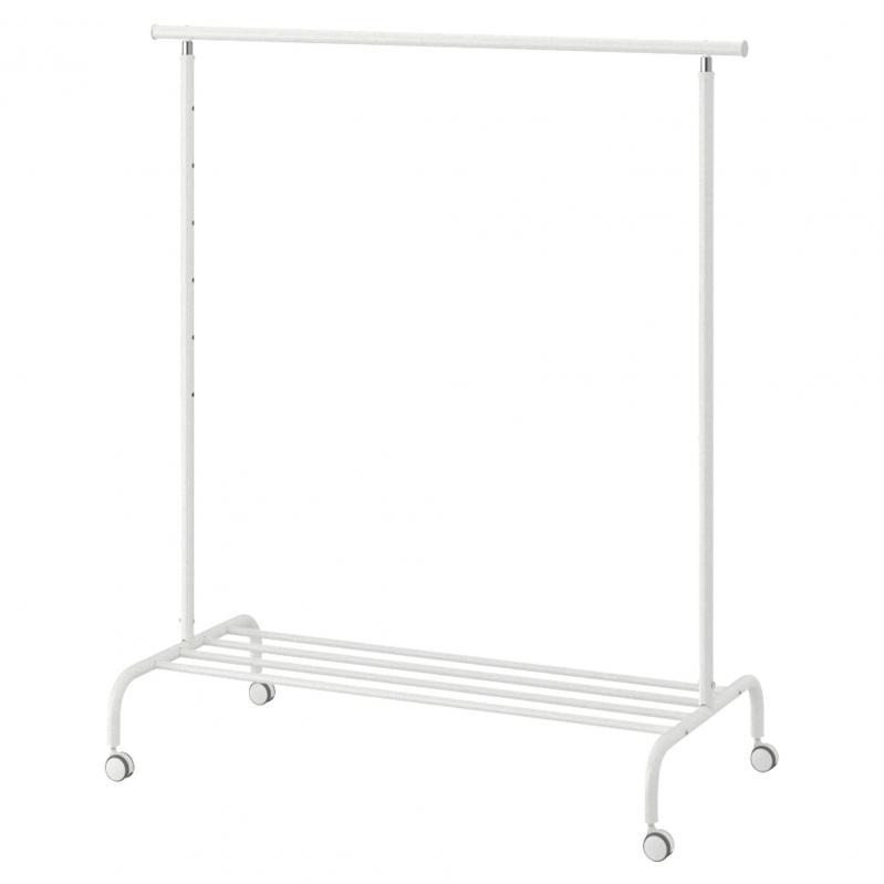 Стойка для одежды IKEA RIGGA 502.316.30 Белый - фото 1