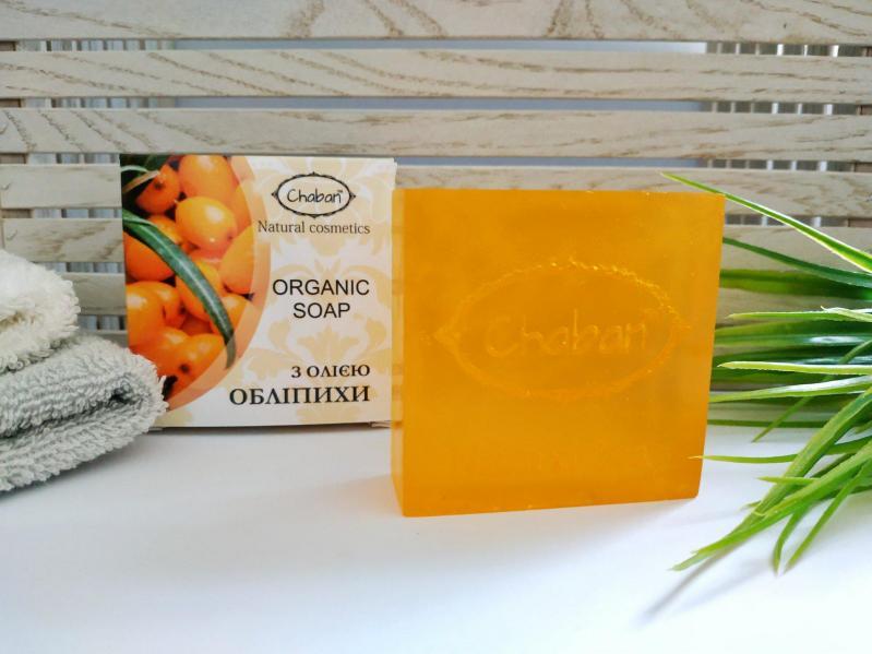 Мило натуральне органічне Chaban С маслом облепихи - фото 3