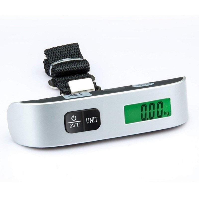 Электронные весы кантер Electronic Luggage Scale для багажа с ремнем - фото 3