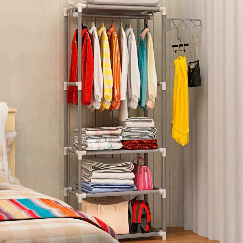 Підлогова вішалка для одягу з полицями Supretto (5936) - фото 4