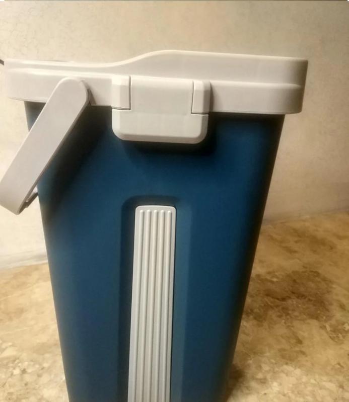 Швабра і відро з автовіджимом Scratch Cleaning Mop Original Синій - фото 6