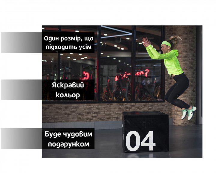 Набор спортивных повязок OSIAZHNYI 2 шт. Оранжевый/Зеленый - фото 8