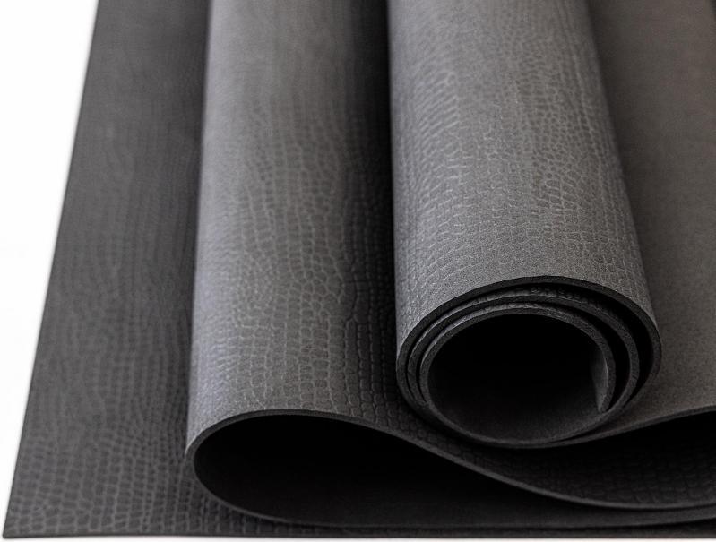 Килимок для йоги та фітнесу OSPORT OF-0089 Yoga Pro 3 мм Чорний - фото 5