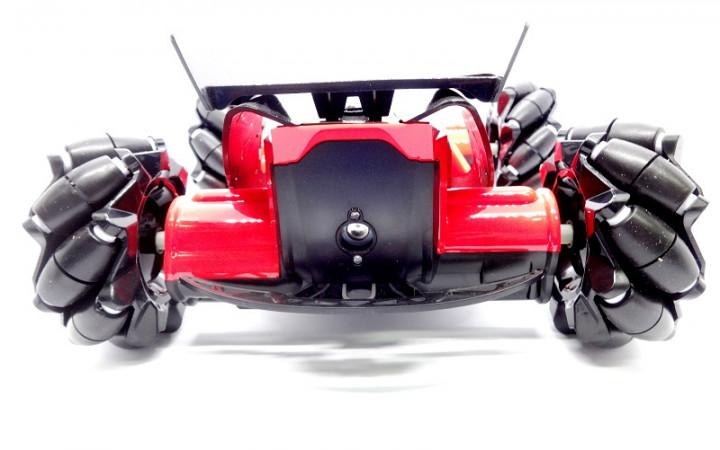 Трюкова машинка Drifter Turbo Air Released на радіокеруванні з підсвічуванням Червоний - фото 5