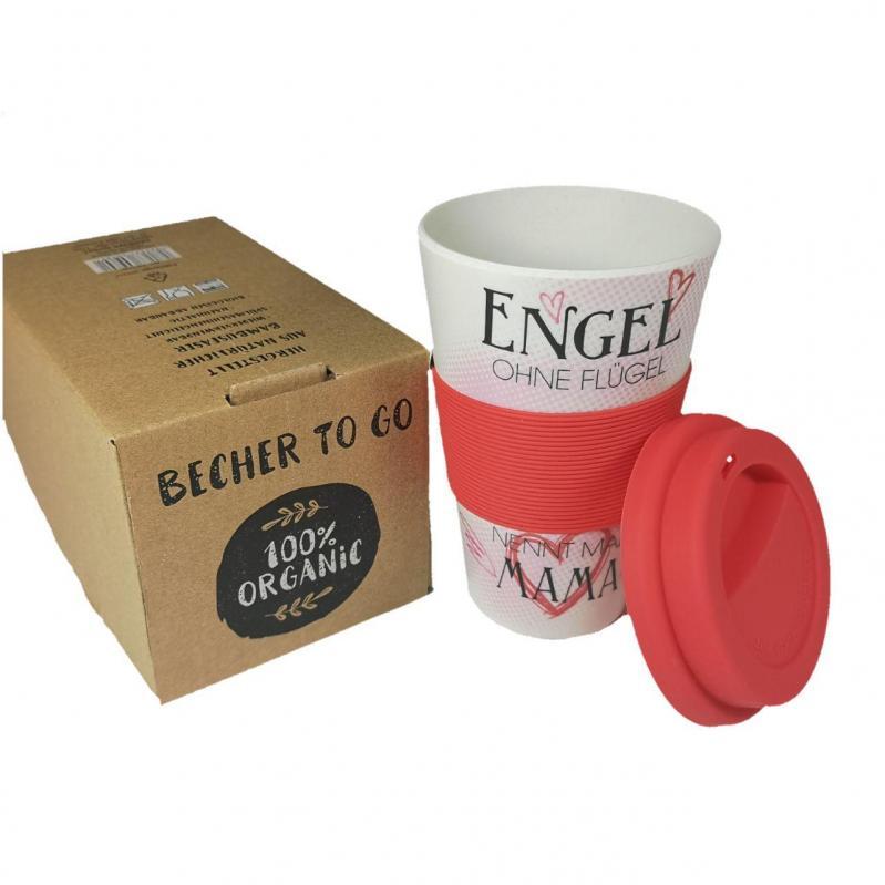 Кофейная кружка to Go Becher Bambus Engel 350 мл - фото 2