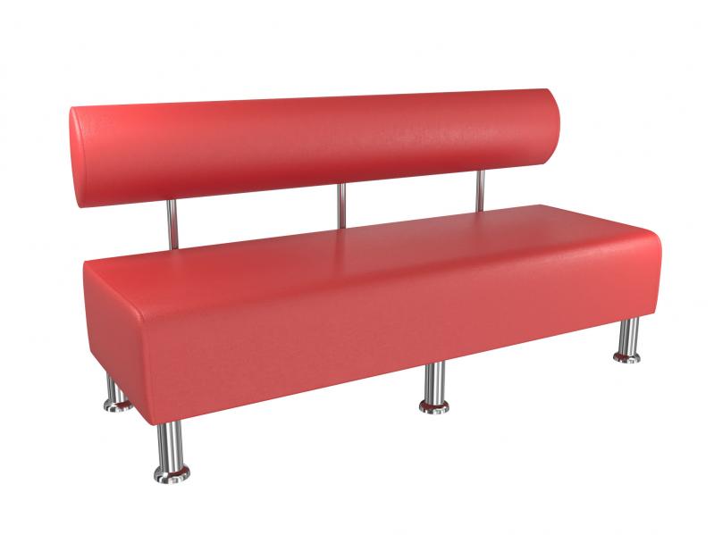 Диван офісний BNB Mini 150 см Червоний - фото 1