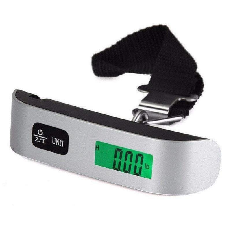 Электронные весы кантер Electronic Luggage Scale для багажа с ремнем - фото 1