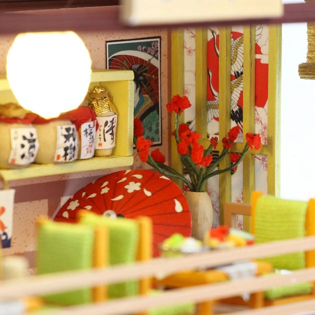 3D Румбокс CuteBee DIY DollHouse Суші-ресторан (G306) - фото 4