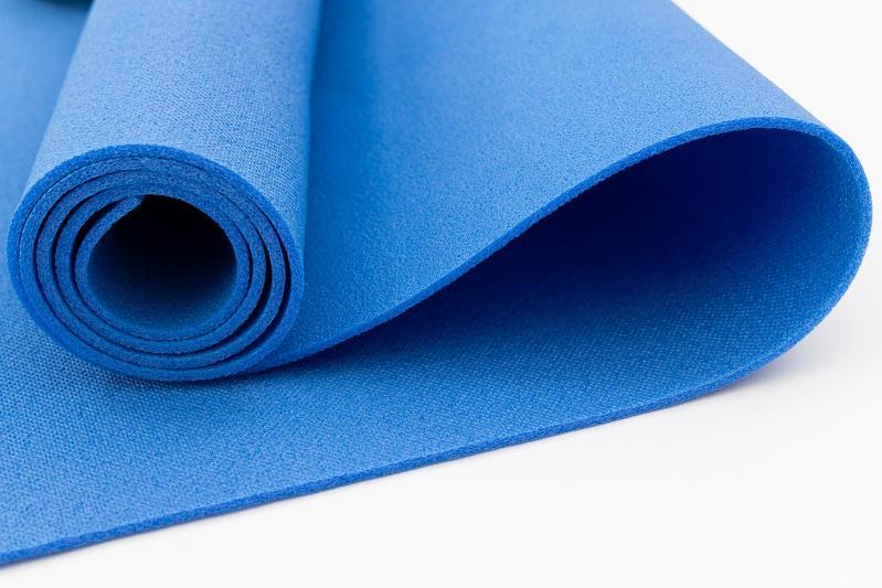 Килимок для йоги та фітнесу OSPORT FI-0077 Колібрі Синій - фото 2
