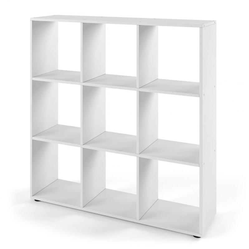 Стелаж квадратний Vicco Nove 9 комірок 104x108 Білий - фото 1