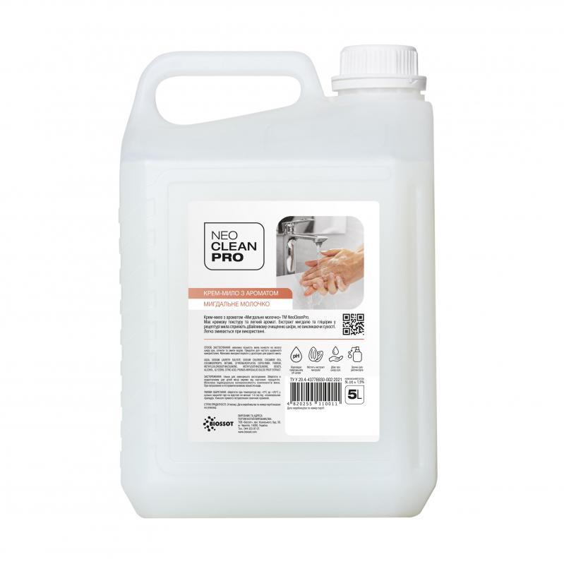Крем-мыло NeoCleanPro Миндальное молочко 5 л (0101050) - фото 1