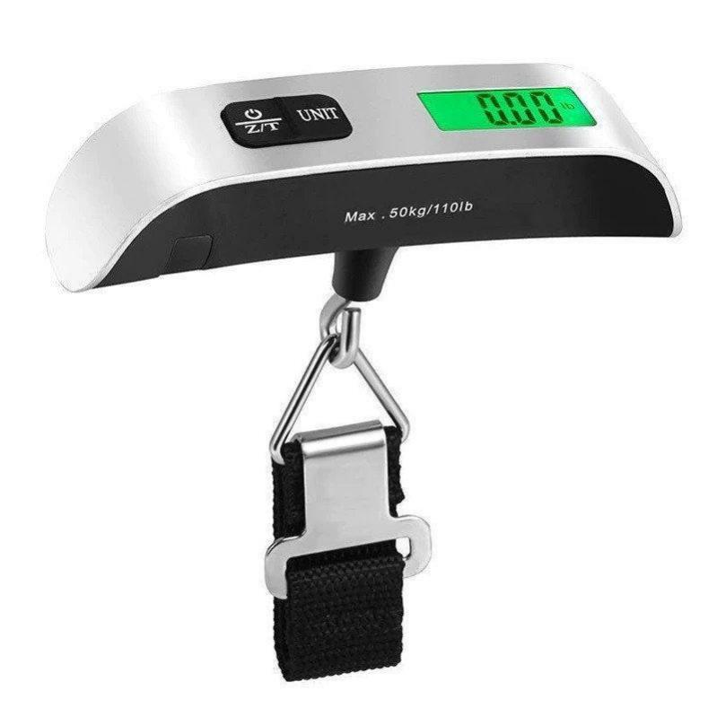 Электронные весы кантер Electronic Luggage Scale для багажа с ремнем - фото 7