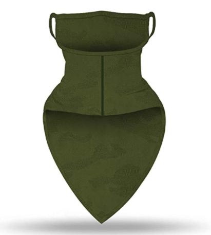 Бафф-маска Copper Зеленый хаки (buff-004-1) - фото 2