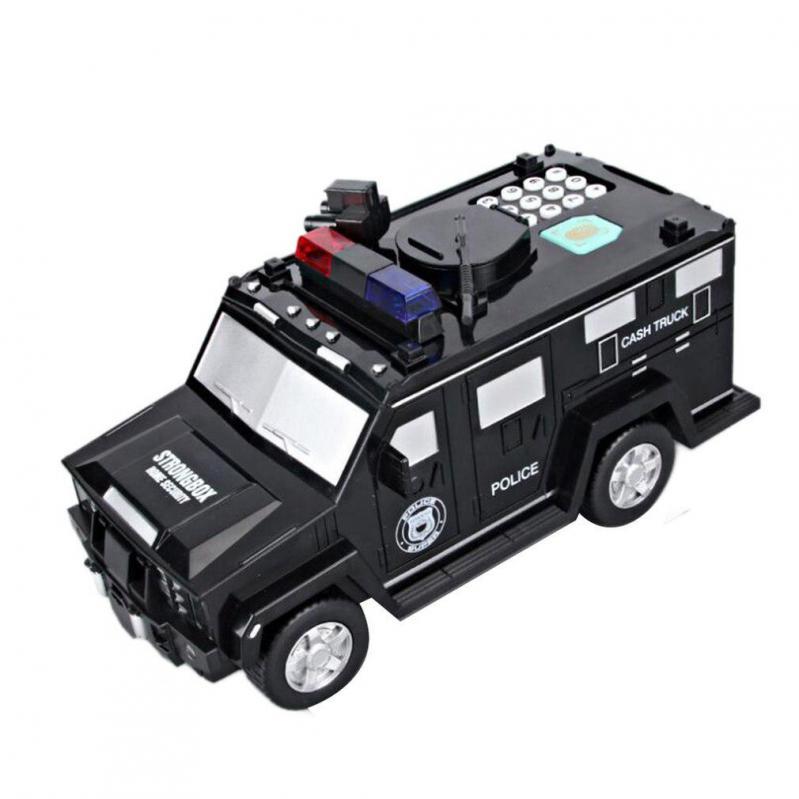 Дитяча машина Cash truck сейф-скарбничка з кодовим замком і відбитком пальця - фото 2