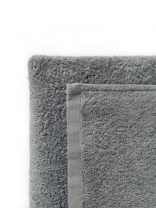 Простынь махровая Dokma 440 г/м² 155x220 Серый - фото 2