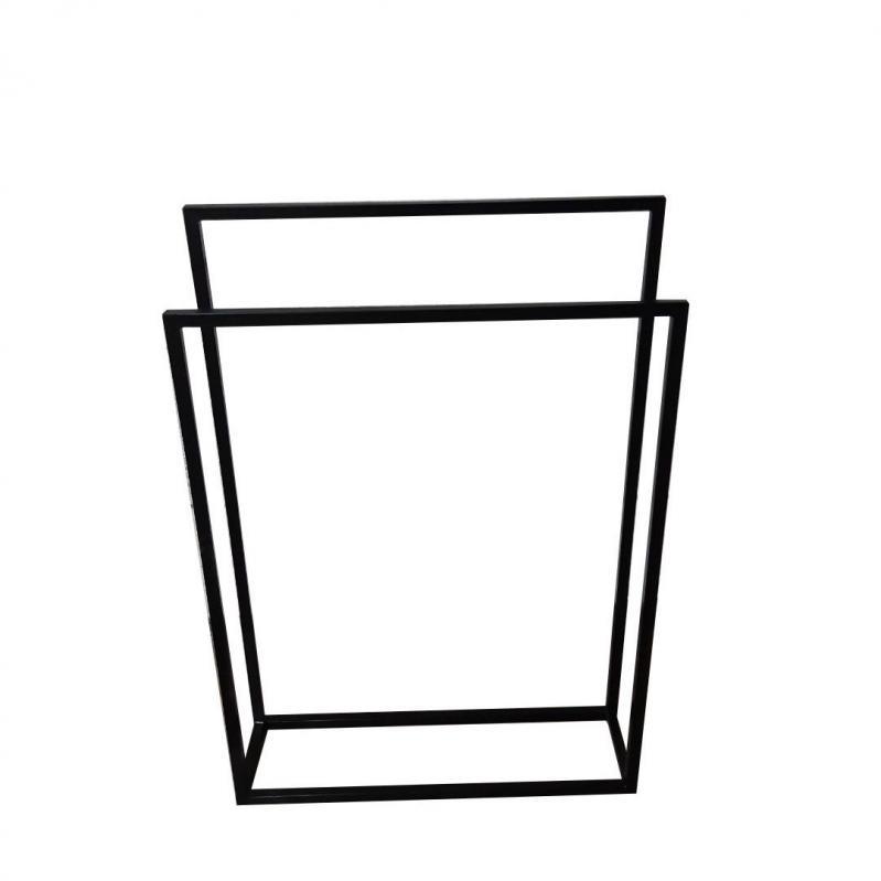Вешалка стойка для одежды GoodsMetall в стиле Лофт 1000х700х200 мм ВШ121 - фото 2