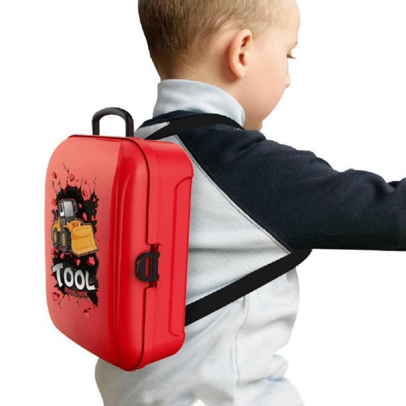 Ігровий дитячий набір інструментів Toy Tool Toy на 25 предметів в портативному рюкзаку (V152) - фото 6