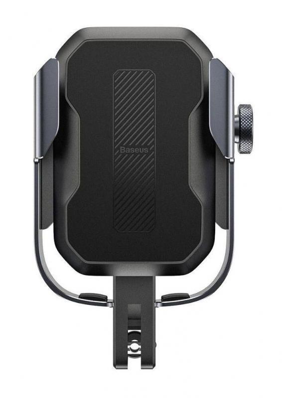 Тримач для мобільного телефона Baseus Armor Motorcycle holder Чорний (SUKJA-01) - фото 2