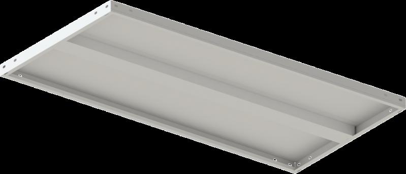 Стелаж металевий 4х150 кг/п 2500х1200х500 мм на болтовому з'єднанні - фото 6