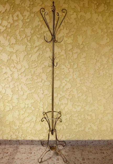 Вешалка кованная напольная  Istanbul 190х51см - фото 1