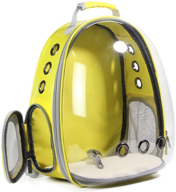 Рюкзак прозорий Lollimeow для перенесення домашніх тварин (DY-SN044) - фото 6