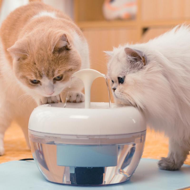 Автоматична поїлка-фонтан для кішок Pawoof X1 Білий - фото 7