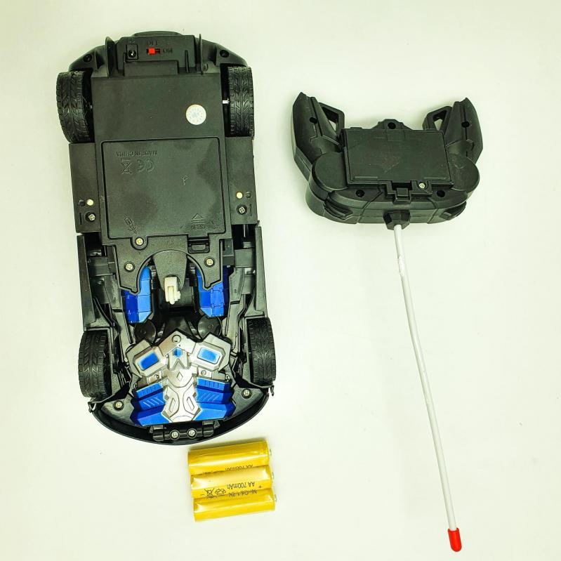 Машинка трансформер на радіокеруванні 22 см UKC Deformation Синій (e1eab8f0) - фото 7