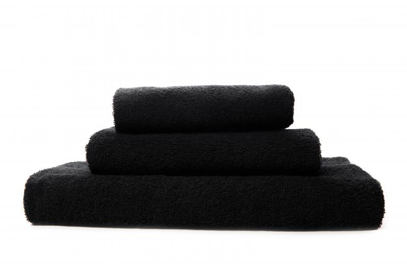 Набор полотенец Черный 3шт. (40х70 см/50х90 см/70х140 см) - фото 1