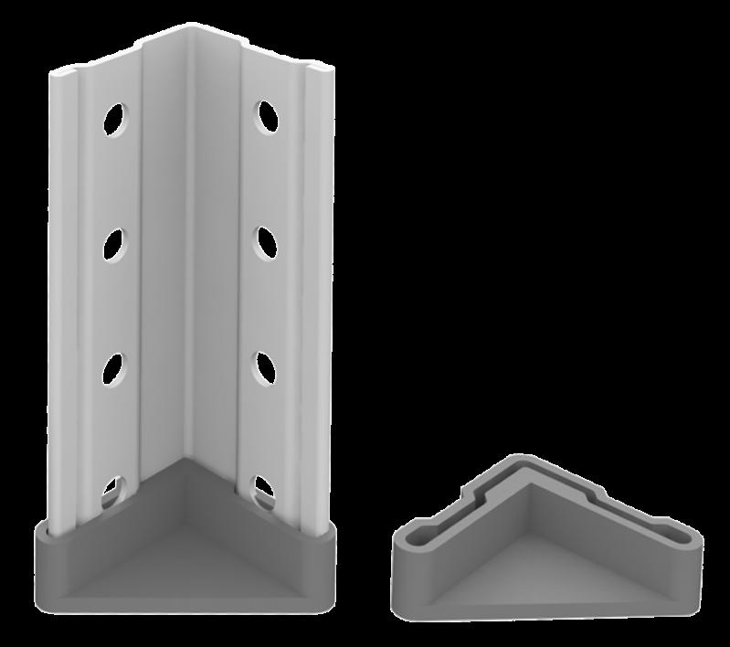 Стелаж металевий 5х100 кг/п 2000х700х400 мм на болтовому з'єднанні - фото 3