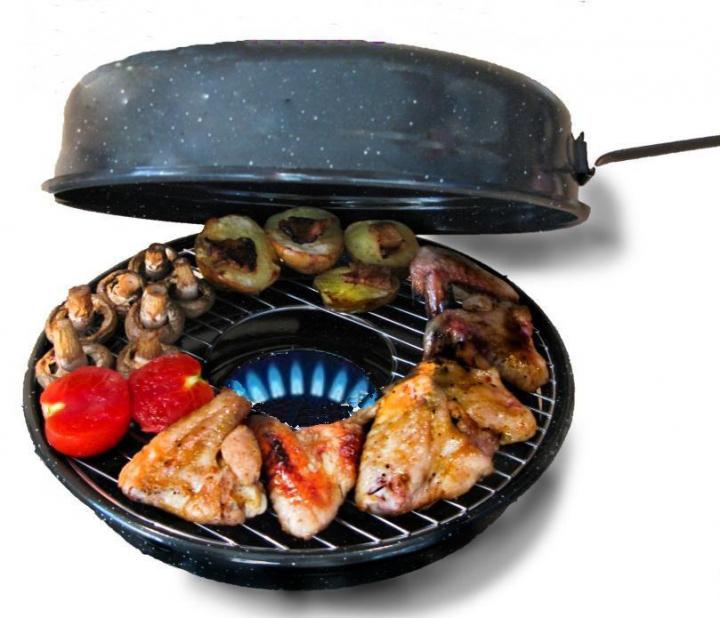 Сковорода гриль Benson BN-801 33 см - фото 3