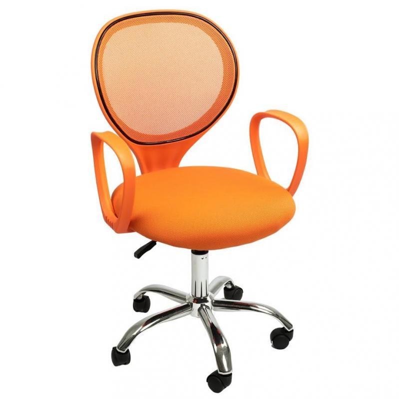 Офисное кресло Sector Helios Оранжевый (KR03) - фото 11