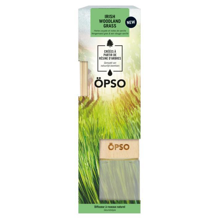 Ароматичні палички Öpso Irish Woodland Grass Ірландська лісова трава 50 мл (809494) - фото 2