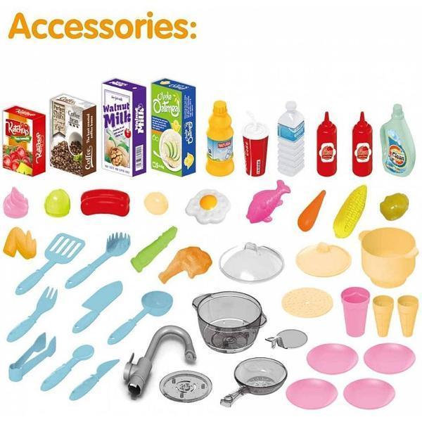 Набір дитячий кухонний Chef Kitchen 67 предметів з підсвічуванням і звуком (922-113) - фото 3