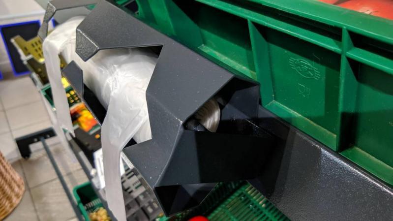 Овочевий стелаж на ніжках H140/L125/D65 cm Тип-10 Графіт - фото 4