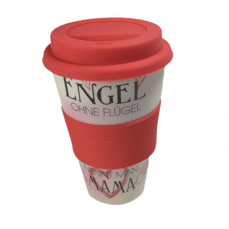 Кофейная кружка to Go Becher Bambus Engel 350 мл - фото 1