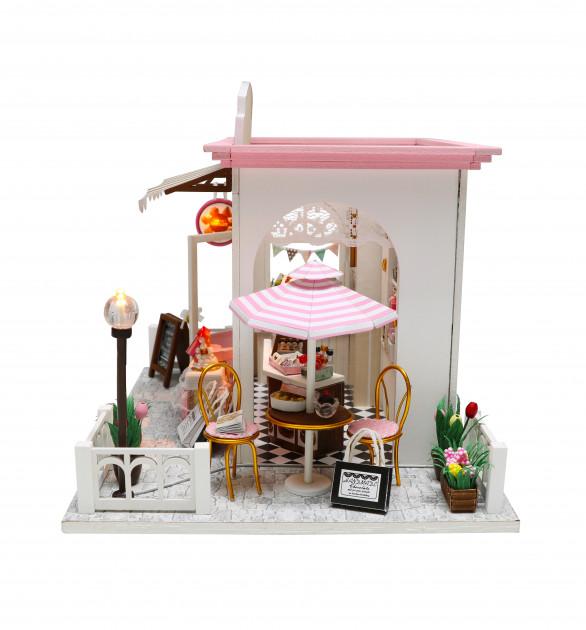 3D Румбокс CuteBee DIY DollHouse Шоколадниця (V358SD) - фото 2