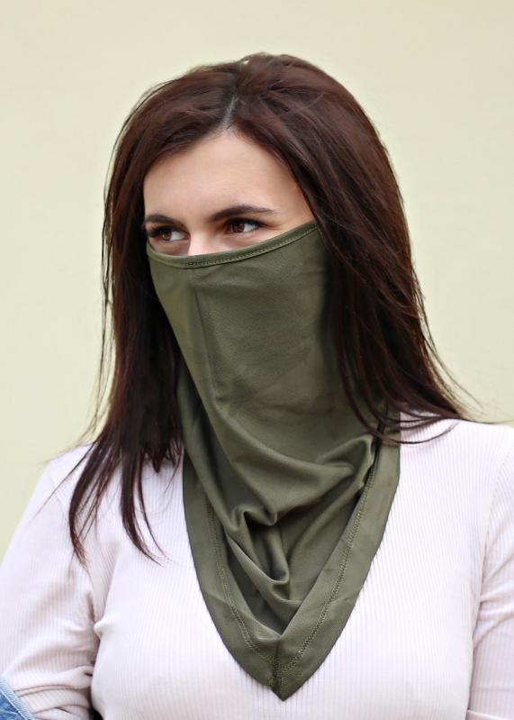 Бафф-маска Copper Зеленый хаки (buff-004-1) - фото 6
