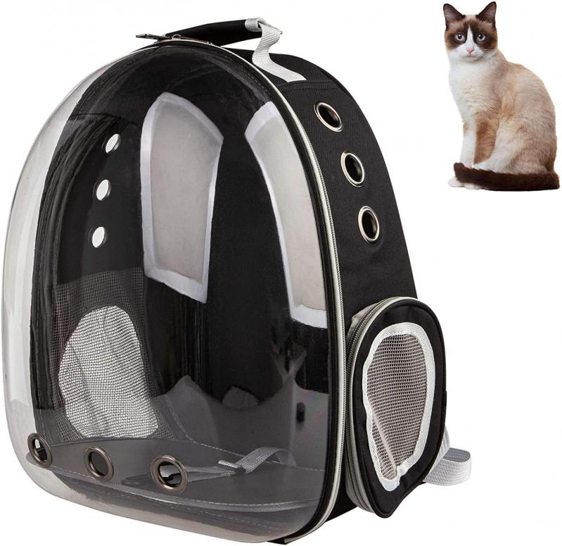 Рюкзак прозорий Lollimeow для перенесення домашніх тварин (DY-SN045) - фото 6