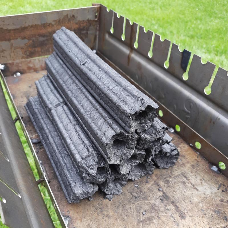 Топливные дерево-угольные брикеты для мангала и гриля Pini Kay 10 кг - фото 5