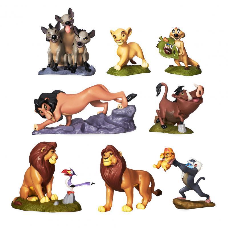 Набор фигурок Король Лев Disney 8 шт - фото 1