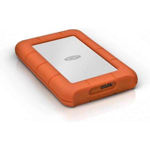 Жесткий диск LaCie USB 2TB (9000298) Rugged Mini - фото 5