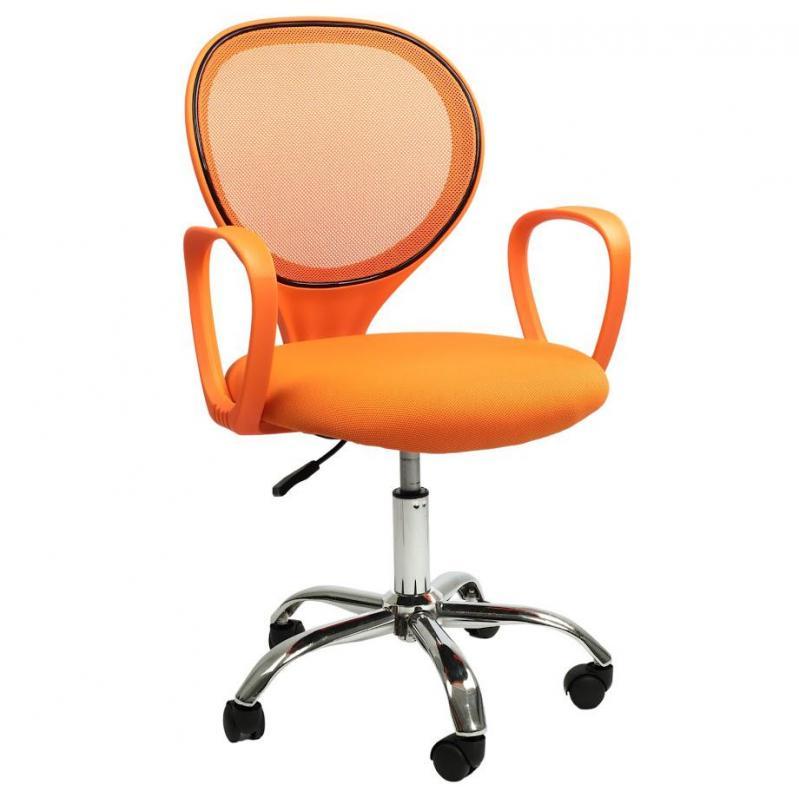 Офисное кресло Sector Helios Оранжевый (KR03) - фото 3